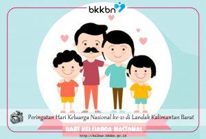 Peringatan Hari Keluarga Nasional ke-21 di Landak Kalimantan Barat