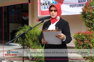 Sosialisasi dan Koordinasi KB Kencana di Singkawang - Sambas
