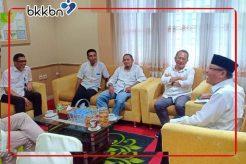 Kunjungan Direktur Produksi Pontianakpost ke BKKBN