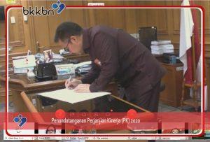 Penandatanganan Perjanjian Kerja Kepala BKKBN RI