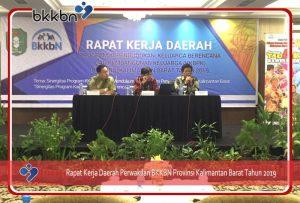 Rapat Kerja Daerah Perwakilan BKKBN Provinsi Kalimantan Barat