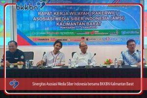 Sinergitas Asosiasi Media Siber Indonesia bersama BKKBN Kalimantan Barat